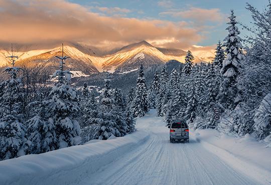Chauffeur privé pour transfert neige